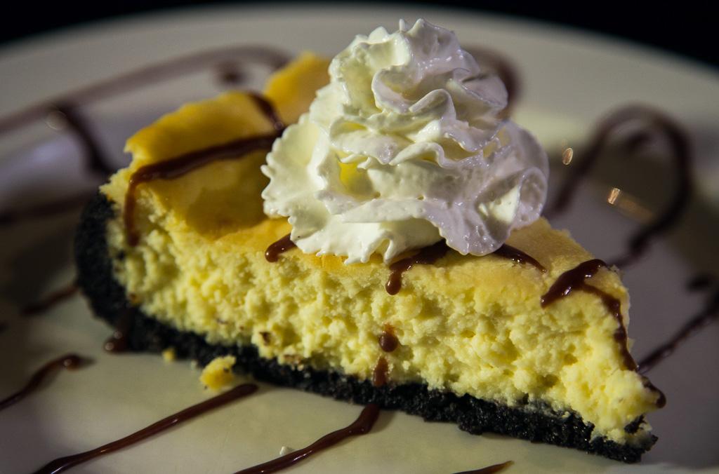 Homemade White Chocolate Cheesecake