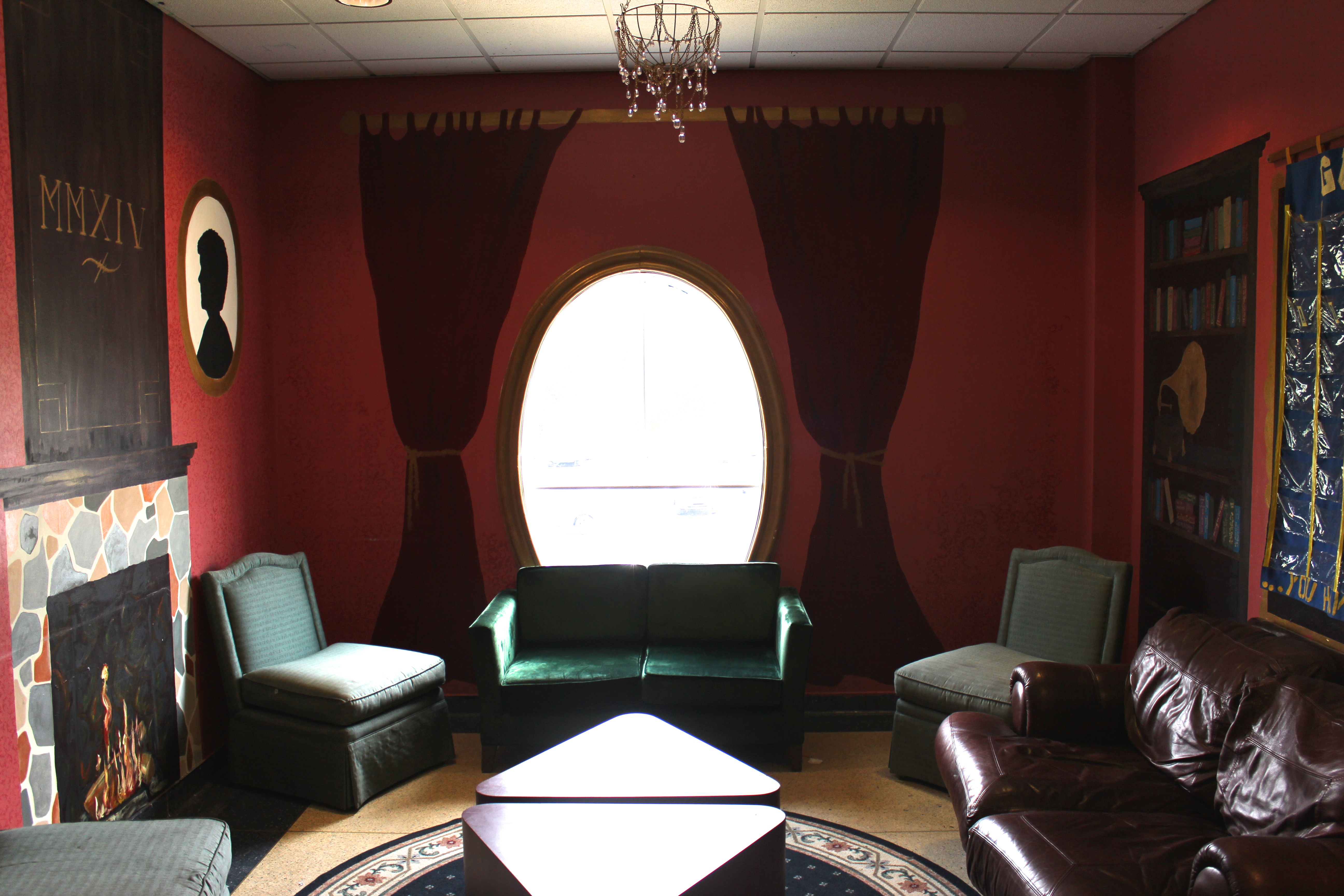 """Full view of the """"Senior Parlor"""""""