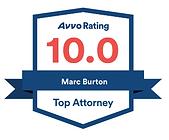 Marc A. Burton, 10.0 Avvo Rating