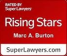 Marc A. Burton, Super Lawyers Rising Star