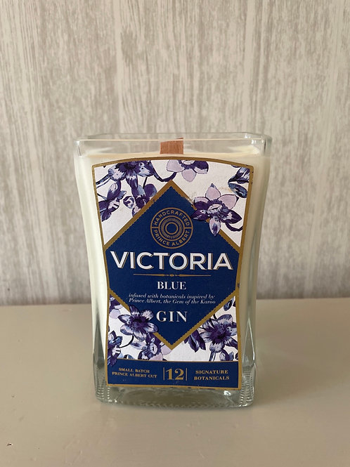 Victoria Blue Gin Candle