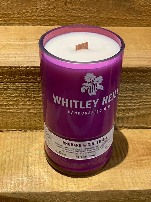 Whitley Neill Rhubarb and Ginger Gin Candle