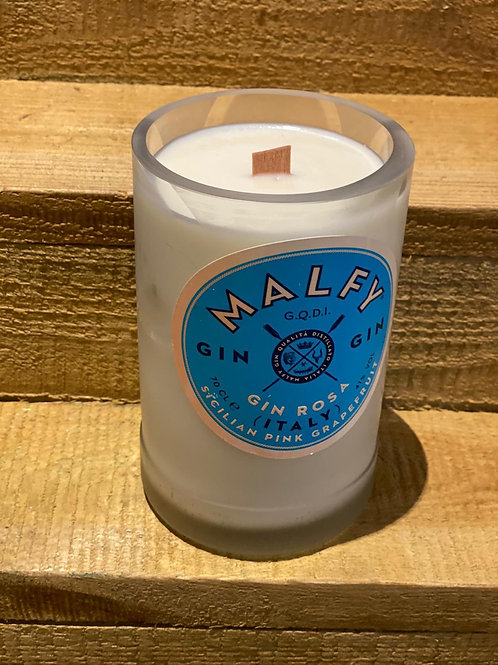 Malfy Gin Bottle Candle