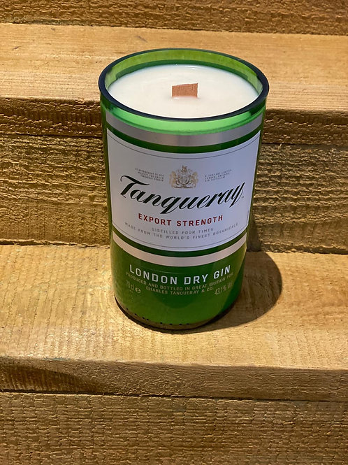 Tanqueray Gin Bottle Candle