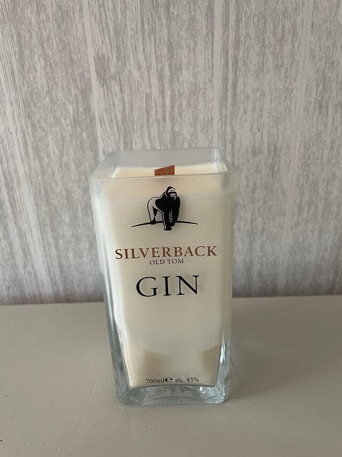 Silverback Gorilla Gin Candle