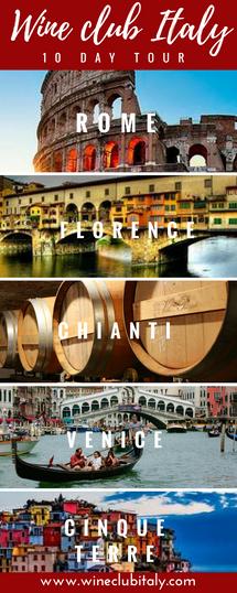 10 DAY ITALY TOUR!