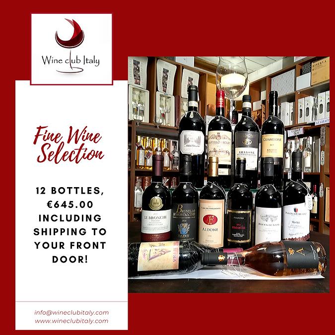 Fine Wine Selection 12 Bottles (1) - Cop