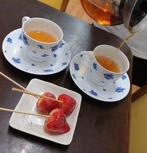 なっち 京都 大山崎町 紅茶