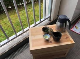 岡村友章 大阪府島本町 政所茶