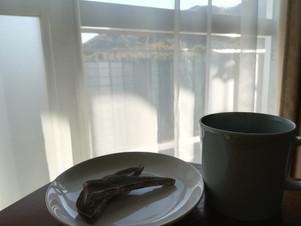 はぎしり 島本町 自家製干し芋をつまみながら、ドリップコーヒー