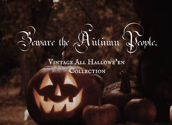 Beware the Autumn People Bundle Pack 8 oz
