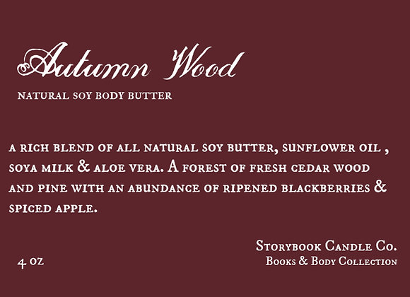 Autumn Wood Soy Body Butter