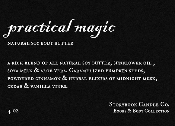 Practical Magic Soy Body Butter