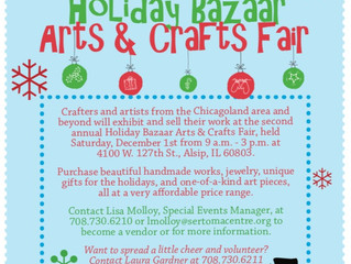 Holiday Bazaar: Arts and Crafts Fair