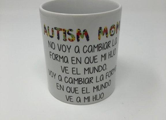 Autism Mug in Spanish
