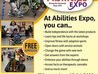 Ability Expo June 12-14 2020! Come and support our artists!