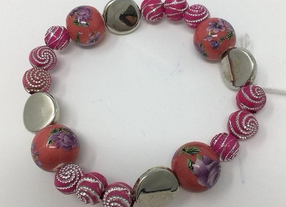 'Dreaming in Pink' Bracelet