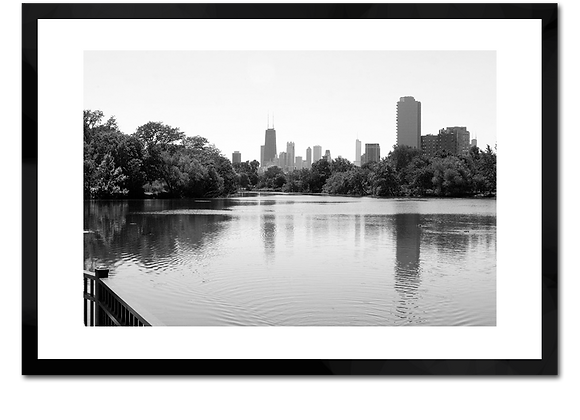 North Pond B&W