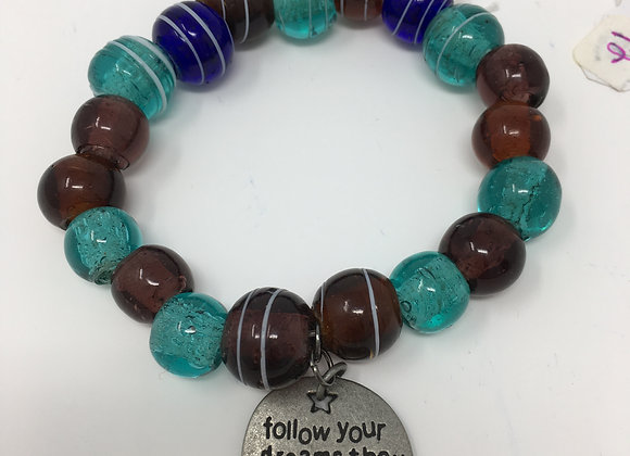 'Follow Your Dreams' Bracelet