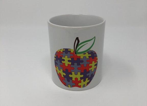Apple Autism Mug