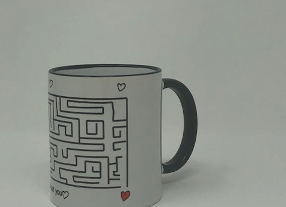 """""""I'd be lost without you"""" Mug"""
