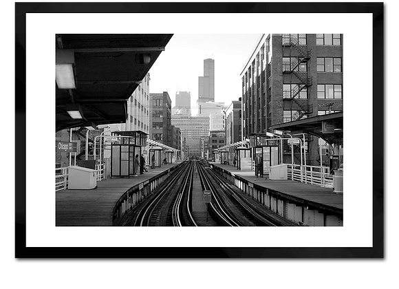 Chicago Brown Line Stop