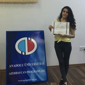 Anadolu Universiteti Azərbaycan Proqramları tələbəsi Firuzə Məmmədzadə ilə müsahibə