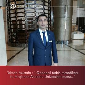 Qabaqcıl tədris metodikasi ilə fərqlənən Anadolu Universiteti mənə...