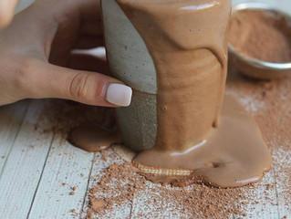 ピーナッツバターホットチョコレート