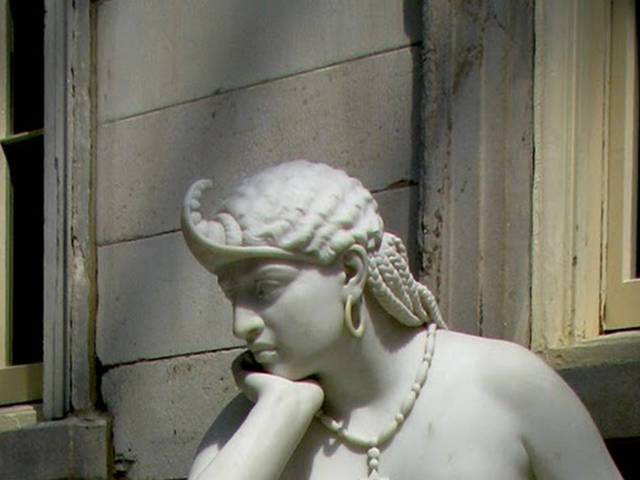 The Libyan Sibyl, an antislavery sermon in stone, inspired the Harriet Beecher's Stowe;s accounts of Sojourner Truth.