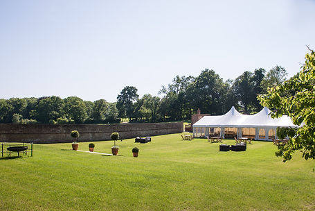 bell tent hire at Holywell Estate