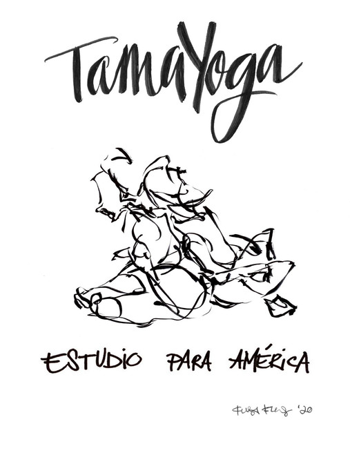 LACMA Art Moves TamaYoga Flyer 2 - Teresa Flores and Rebecca Plevin
