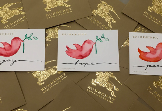 Greeting Card Lettering