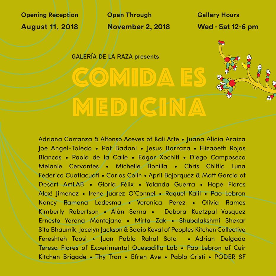 Flyer for EQL at Galería de la Raza