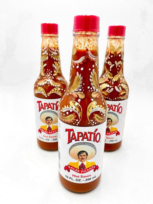 Adornamented Tapatío Bottle