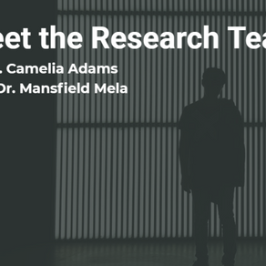 Meet the Research Team - Adams and Mela