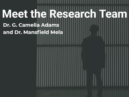 Meet the Research Team - Adams and Mela