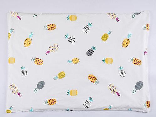LW1036 嬰兒針織空調被 - 菠蘿格調