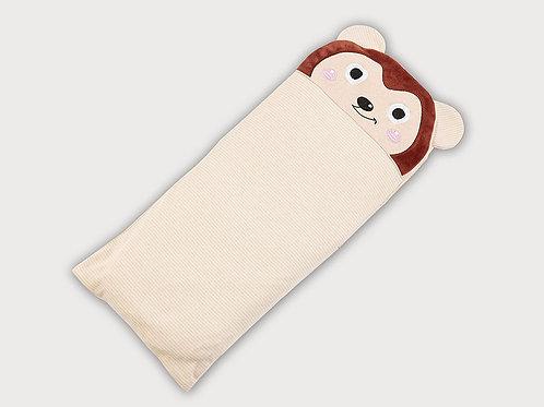 LW1004 嬰兒針織枕頭 - 活潑小猴