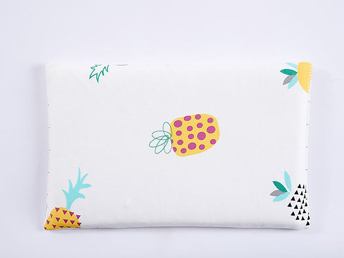 LW1039 嬰兒針織床枕頭 - 菠蘿格調