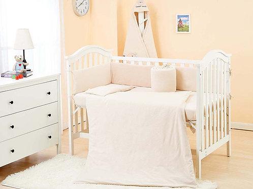 LW1021 嬰兒針織床品套裝 - 自然色系