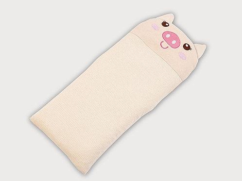 LW1009 嬰兒針織枕頭 - 可愛小豬