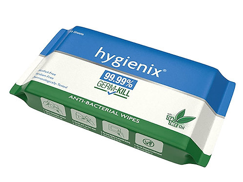 HG0369Hygienix 抗菌濕紙巾(20片)