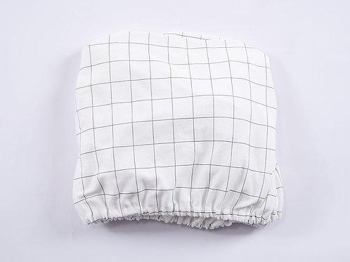 LW1036 嬰兒針織床笠 - 菠蘿格調