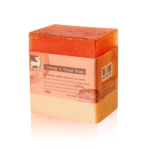 GR8204 甜薑丹橘薑芬皂 120g