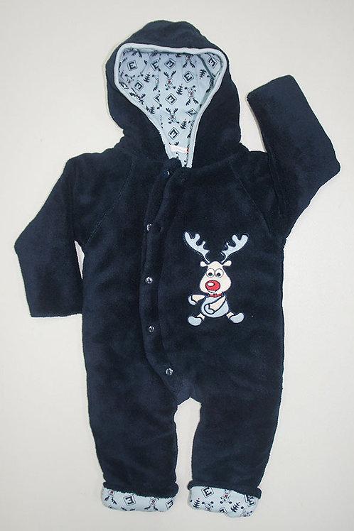 LW3069 嬰兒連帽冬季夾衣 (0-12 months)