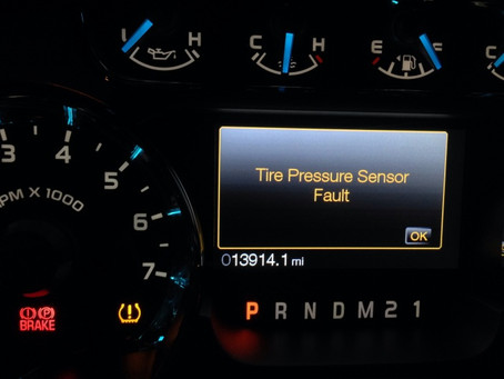 What happens when my tire pressure warning light comes on?  What should I do now?