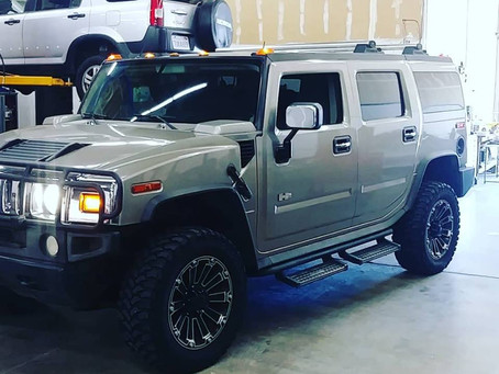 Hummer H2 Ride Height Problems?