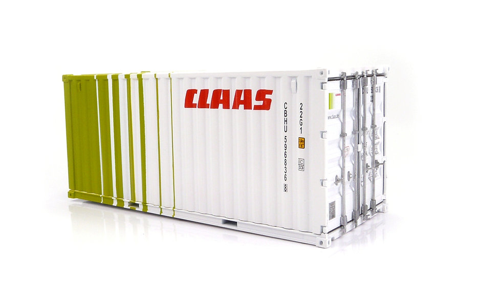 Claas shipping container 20 ft.