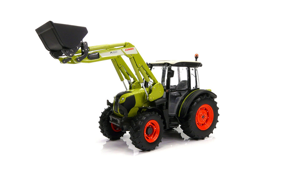 Claas Elios 230 with frontloader